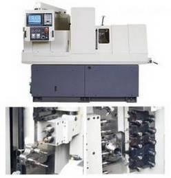 décolletage précision CNC poupée mobile